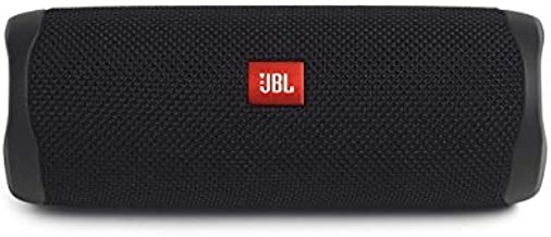 JBL Flip 5 Waterproof Portable Bluetooth Speaker - Black (Renewed)