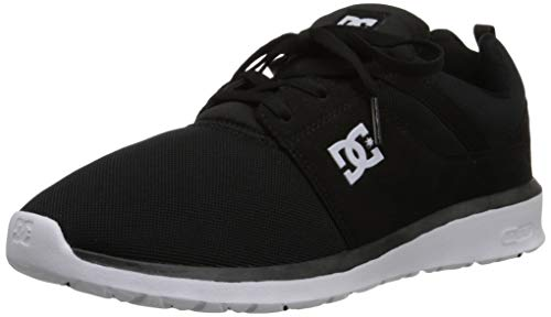 DC Shoes Herren Heathrow-U, Schwarz/Weiß, 48 EU