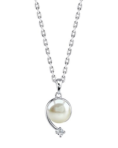THE PEARL SOURCE 8-9mm Genuine Whit…