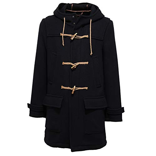 OFFICINA36 6078J Montgomery Uomo Mix Wool Dark Blue Jacket Man
