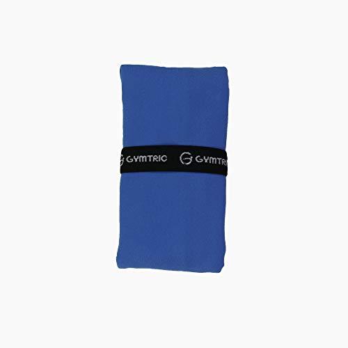 moleo Blue, 150x200 cm, Asciugamano ad Asciugatura Rapida. Unisex-Adulti, Blu