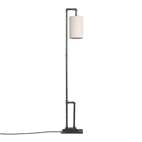 LY88 Licht? L Retro Industriële Vloerlamp Creatieve Smeedijzeren Slaapkamer Woonkamer Lezen Staande Lichtkleur: Geel licht