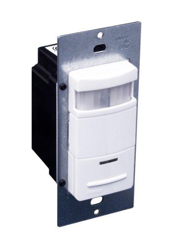 Leviton ODS10-ID Decora 120/277-Volt Wall Switch Occupancy Sensor, White