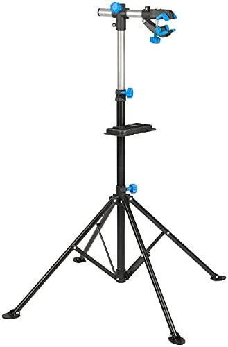 AGT Fahrradständer: Montageständer für Fahrrad & E-Bike bis 30 kg, robuster Stahl, 360° (Fahrrad Reparaturständer)