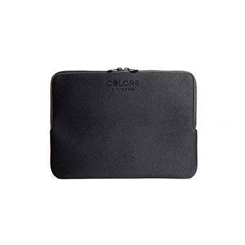 Tucano Second Skin Colore Funda para portátil de 12 ', Macbook Pro 13' y Mac Book Air 13 ', color negro
