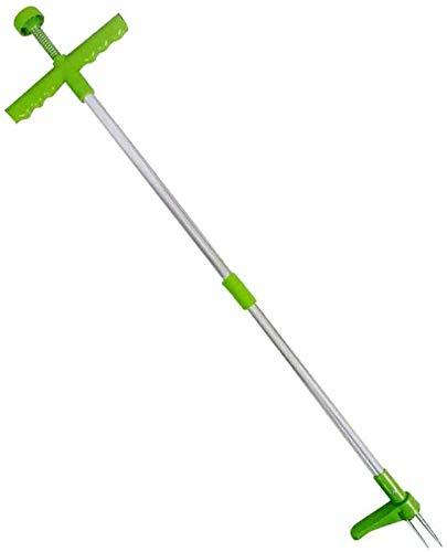 Hilif Desherbidor manual de aluminio con garras de muelle para eliminar malas hierbas, 100 cm