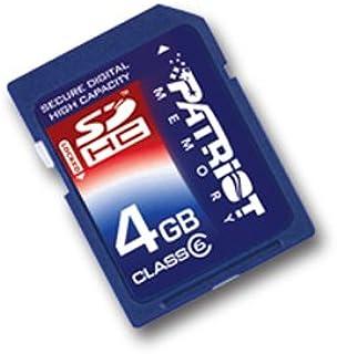 NEW 8Gb Genuine Patriot Memory Card for FUJIFILM FINEPIX F70EXR Digital camera