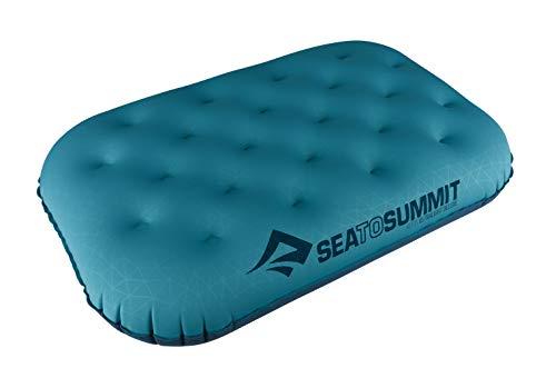 Sea to Summit Almohada Hinchable de Viaje Ultraligera Deluxe Pillow Aqua Blue Talla única