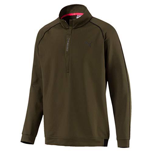 Preisvergleich Produktbild PUMA Herren PWRWARM 1 / 4 Zip Pullover,  Forest Night,  XL