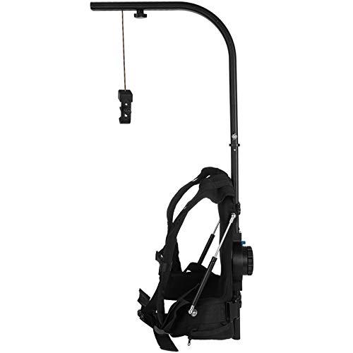 VEVOR 3-18 kg Stabilizzatore della Fotocamera Easyrig, 11 Libbre Stabilizzatore Tascabile con Impugnatura Manuale per Catturare Trasmissioni, Film, Eventi Sportivi, Documentari e Altre Applicazioni