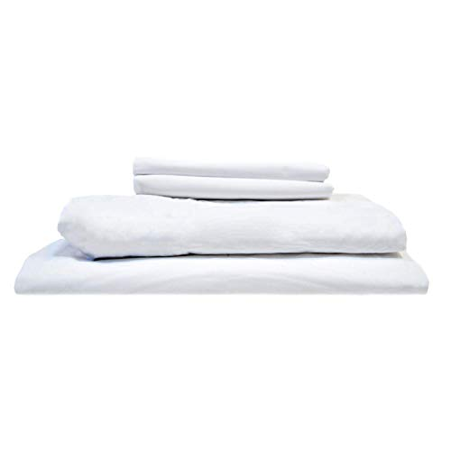Read About Coyuchi 300 Thread Count Organic Percale Sheet Set, Cal King, Alpine White