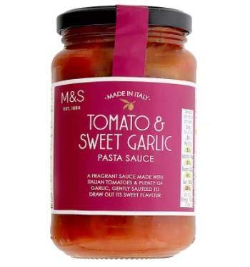 #RT Marks Spencer Popular brand Tomato And Sweet Sauce Pasta Philadelphia Mall -Ma Garlic 340g