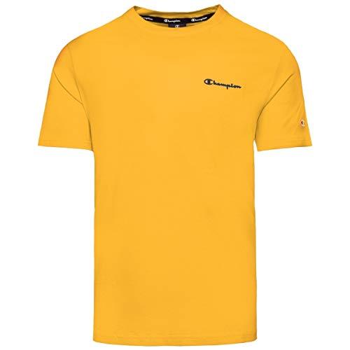 Champion Crewneck - Camiseta para hombre, Primavera/verano (FS)., Estampado., Manga Corta, Hombre, color Gly (214153-ys058), tamaño XXL