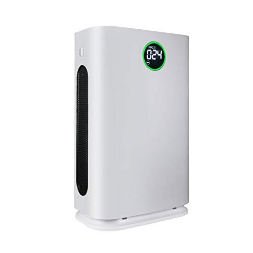 MYRCLMY - Purificador de aire grande con filtro HEPA, humidificador, purificador de aire para alergias y mascotas, fumar, moho, polen, polvo, sensor inteligente, para habitaciones de 70 Qm