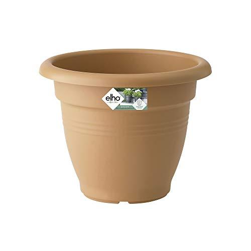Elho Green Basics Campana 50 - Pot De Fleurs - Terre Cuite Doux - Extérieur - Ø 48.3 x H 38.1 cm
