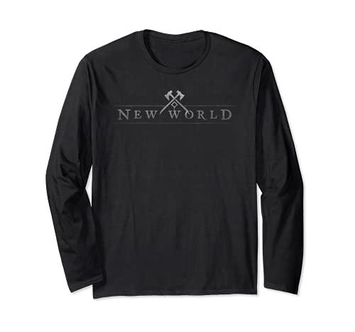 New World Logo Langarmshirt