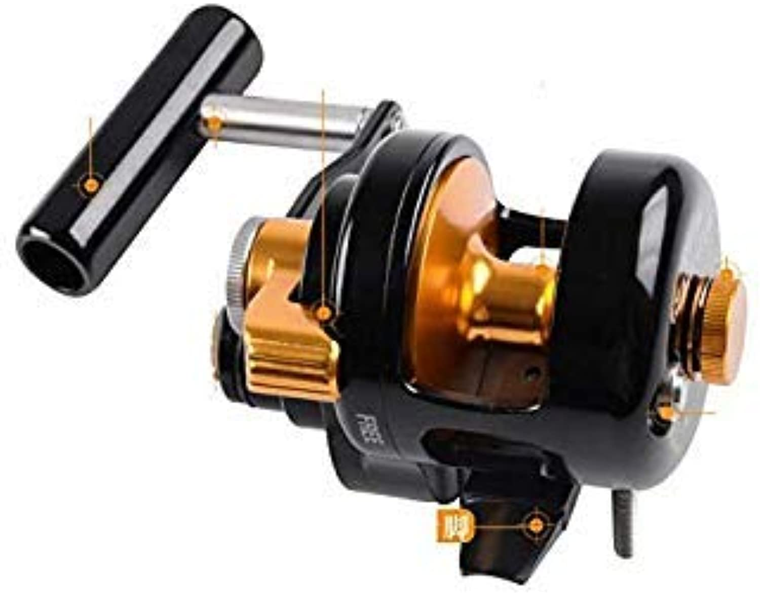 GEOPONICS 2018 WOEN New Sea Fishing Iron Plate Wheel 25 kg Fishing Force Trolling Reel Jigg400 Slow Shake Sea Fishing Wheel color Black Bearing Quantity 9 Spool Capacity 5000 Series