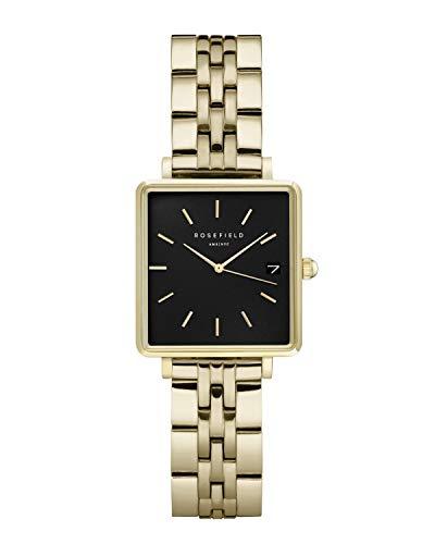 Rosefield Reloj para Mujer Analógico Cuarzo japonés con Correa de Acero Inoxidable QMBG-Q025