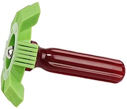 General Motors Aire Acondicionador Radiador Condensador Evaporador Aleta Enderezadora Bobina Plastic Automatic System System Herramienta de reparación (Color : Green)