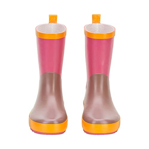 Color Kids Wellies Color Block, Botas de Lluvia Niñas, Mieysuckle, 27 EU