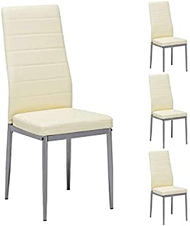 Mecor Dining Chairs Set of 4,Modern Dining Chairs High...