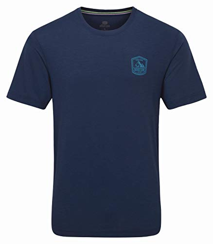 Sherpa Hawa T-Shirt Homme, neelo Blue Modèle S 2020 T-Shirt Manches Courtes