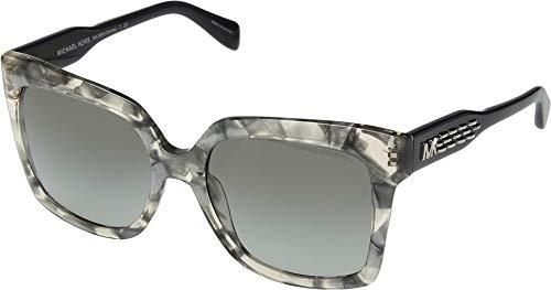 Michael Kors 0MK2082 Gafas de sol, Pink Silver Flakes, 55...