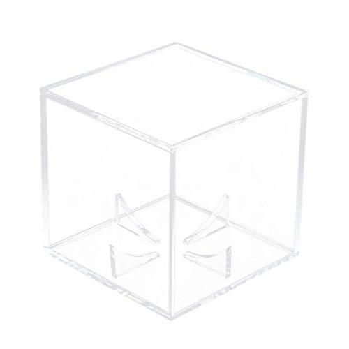 SUPVOX Contenitore per espositore da Baseball Scatola Quadrata Trasparente per Palline da Tennis in Acrilico Supporto per espositore per Fan Coach del Giocatore