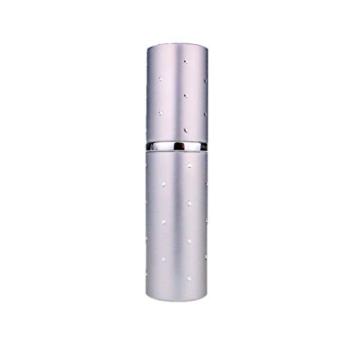 10ml Argent Dot Fragrance Fragrance Sac à main/atomiseur Voyage, Rechargeable, Avec Entonnoir