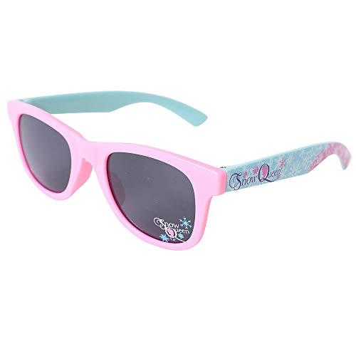 TE-Trend Frozen Kinder Mädchen Girl Sonnenbrille Kindersonnenbrille Sonnenschutz UV400 Brille Motivbrille Snow Queen Rosa Mint