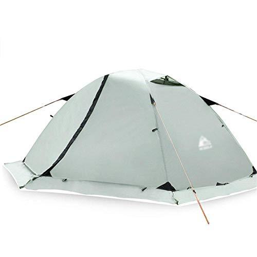 Générique Arongbc Tente de Camping étanche pour 2 Personnes Double Couche 4 Saisons, Snow Skirt