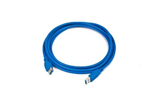 Gembird CCP-USB3-AMAF-6 - Cable alargador USB 3.0, 1.8m, 600