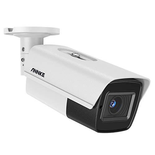 Annke 5MP HD Videocamera di Sorveglianza Con 5x Zoom Ottico e Obiettivo Barioide Motorizzato(2,7-13,5 mm),Sicurezza Domestica 4 in 1,Visione Notturna EXIR da 132m, impermeabile IP67 per intern/esterni
