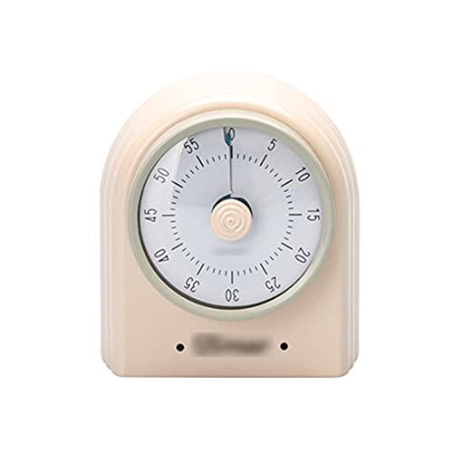 Temporizador Básico para Interiores, Temporizador Visual Mecánico De 60 Minutos, Temporizador De Cuenta Regresiva Magnético Pequeño para Cocina, con Alarma Sonora, para Niños Y Adultos