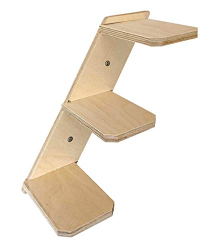 Elmato 13031 Katzenstufentreppe mit 3 Sprossen (rechts)