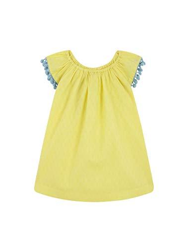 Gocco Vestido Dobby, Amarillo (Amarillo Claro YC), 74 (Tamaño del Fabricante:6/9) para Bebés