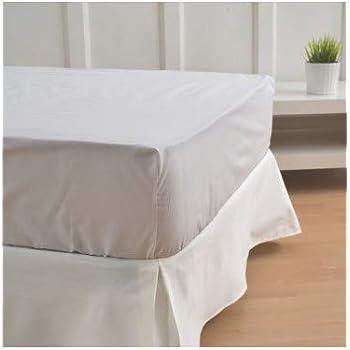 Cardenal Textil Liso Cubre Canape, Blanco, Cama 135: Amazon ...