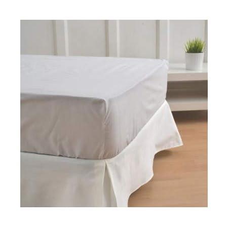 10XDIEZ Cubre canapés 90 Blanco Roto - Medidas canapé 90cm - Elegante y Sencillo de Lavar y Colocar - Tejido Fuerte, Suave y Duradero