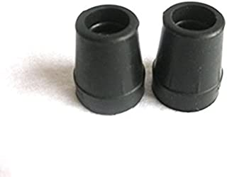 Harvy 1/2 Heavy Duty Black Rubber Replacement Cane Tip. (2 Pack) …