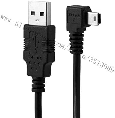 Cable Length: 180cm, Color: Right Occus Mini USB B Type 5pin Male to USB 2.0 Male Data Cable with Ferrite 25cm 0.5m 1.8m 3.0m 5.0m Left Angled Right Angled 90 Degree