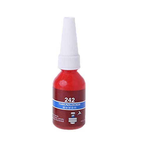 KERDEJAR 1pc 10ML / 50ML 242 Sello de Rosca Bloqueo de Pegamento Tornillo Adhesivo anaeróbico Azul 10G