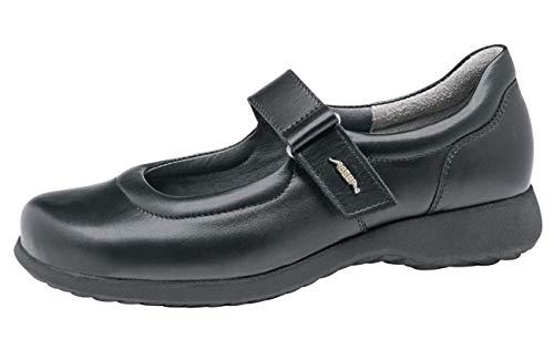 Abeba Serviceschuhe Kellnerschuhe schwarz 3030 Gr. 42