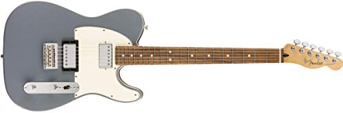 Fender Player 6 Cuerdas Cuerpo Sólido Guitarra Eléctrica, Derecha, Plata, Completo (145233581)