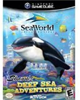 Seaworld Adventure Parks Shamu's Deep Sea Adventure (video Games, Gamecube) New