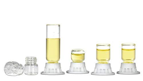 Combo de Bebederos Mini de 1 y 4 ml de Líquidos Para Hormigas: Para Agua, Agua Azucarada o Néctar Para Hormigas (4 uds.)