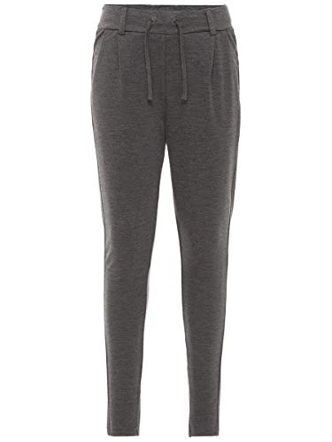 Name It Nitida Pant NMT Noos Pantalon, Gris (Dark Grey Melange), 92 Bébé Fille