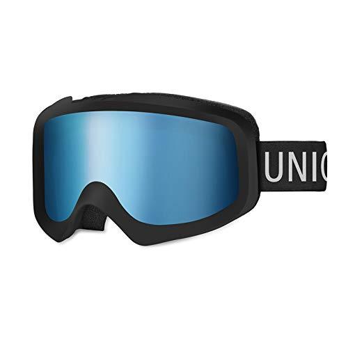 Unigear Skido X1 Ski Goggles, Snowboard Snow Goggles for Men, Women & Youth...