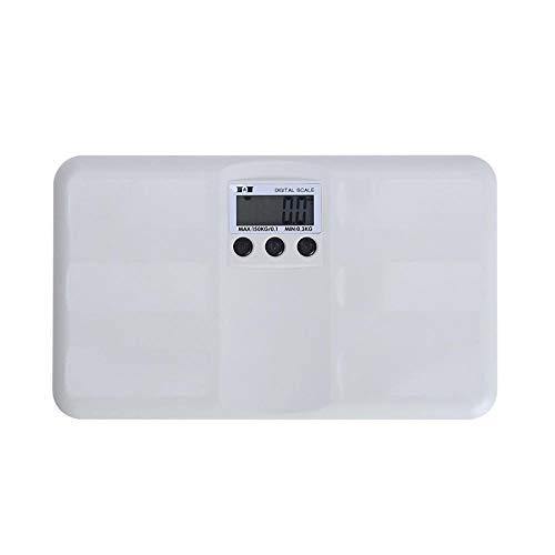 Digitale Waage Badezimmerwaage Körperfettwaage Elektronisches Wiegemessgerät Küchenwaage Haushalt Gesunde Fettwaage