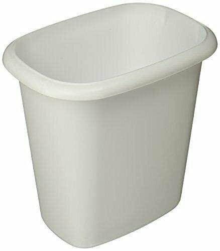 Max 76% OFF Vanity Trash Can Wastebasket quarts Kitchen 6.0 Home half