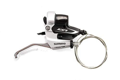 Shimano ST-M360 ACERA Brems Schalthebel Shifter 8fach Rechts Rapid Fire Silber
